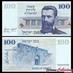 ISRAEL - Billet de 100 Lirot - Dr. Theodor Herzl - 1973 P41a