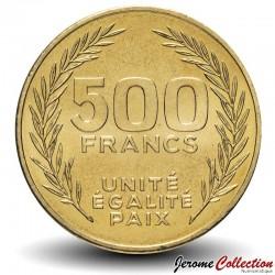 DJIBOUTI - PIECE de 500 FRANCS - 2010 Km#27