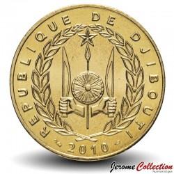 DJIBOUTI - PIECE de 500 FRANCS - 2010