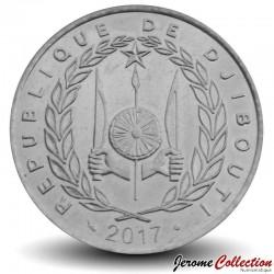 DJIBOUTI - PIECE de 100 FRANCS - Deux dromadaires - 2017