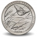ETATS UNIS / USA - PIECE de 25 Cents - America the Beautiful - Tallgrass Prairie - Kansas - 2020 - D