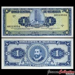 NICARAGUA - Billet de 1 Córdoba - 1968 P115a