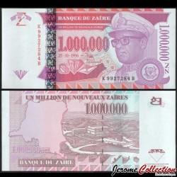 ZAIRE - Billet de 1000000 Nouveaux Zaïres - GD - 25.10.1996 P79a