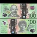 AUSTRALIE - Billet de 100 DOLLARS - Sir John Monash - Polymer - 2020 P66b