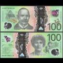 AUSTRALIE - Billet de 100 DOLLARS - Sir John Monash - Polymer - 2020
