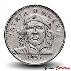 CUBA - PIECE de 3 PESOS - Ernesto Che Guevara - 1995 Km#346a