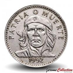 CUBA - PIECE de 3 PESOS - Ernesto Che Guevara - 1992 Km#346a