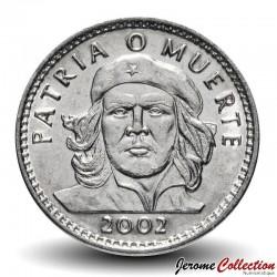 CUBA - PIECE de 3 PESOS - Ernesto Che Guevara - 2002 Km#346a