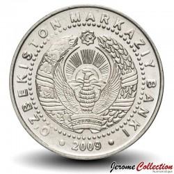 OUZBEKISTAN - PIECE de 100 Som - Monument de la bonté - 2009