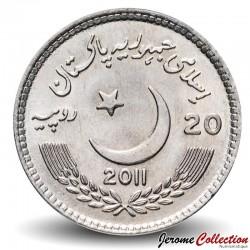PAKISTAN - PIECE de 20 Roupies - université