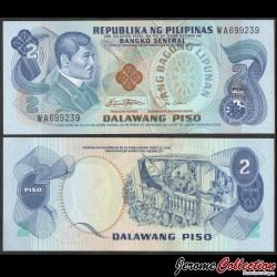 PHILIPPINES - Billet de 2 Piso - Jose Rizal - 1978 P159b