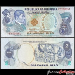PHILIPPINES - Billet de 2 Piso - Jose Rizal - 1978 P159c2