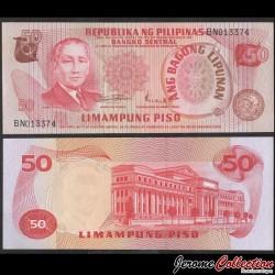 PHILIPPINES - Billet de 50 Piso - Sergio Osmeña - 1970 P156b