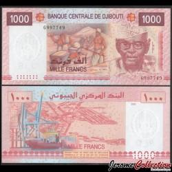 DJIBOUTI - Billet de 1000 Francs - Chameau - 2005 P42a