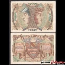 ALLEMAGNE / Badische Bank - Billet de 10000 Mark - 1923 Ps910a