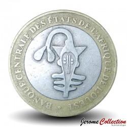 AFRIQUE DE L'OUEST (BCEAO) - PIECE de 500 Francs - Cabosses de cacao - Bimétal - 2003