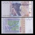 BCEAO - Burkina Faso - Billet de 10000 Francs - Oiseau Touraco à gros bec - 2020 P318ct