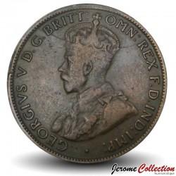 AUSTRALIE - PIECE de 1/2 Penny - George V - 1926
