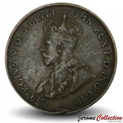 AUSTRALIE - PIECE de 1/2 Penny - George V - 1927