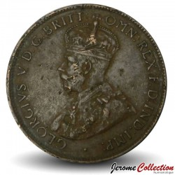 AUSTRALIE - PIECE de 1/2 Penny - George V - 1935