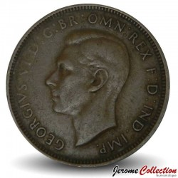 AUSTRALIE - PIECE de 1/2 Penny - George VI - 1938