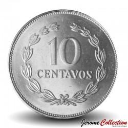 SALVADOR - PIECE de 10 Centavos - José Francisco Morazán Quezada - 1999 Km#155