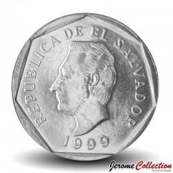SALVADOR - PIECE de 5 Centavos - José Francisco Morazán Quezada - 1999
