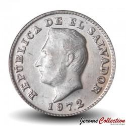SALVADOR - PIECE de 1 Centavo - José Francisco Morazán Quezada - 1972