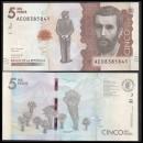 COLOMBIE - Billet de 5000 Pesos - Abeilles - 29.08.2017