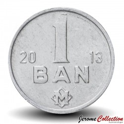 MOLDAVIE - PIECE de 1 Ban - 2013 Km#1
