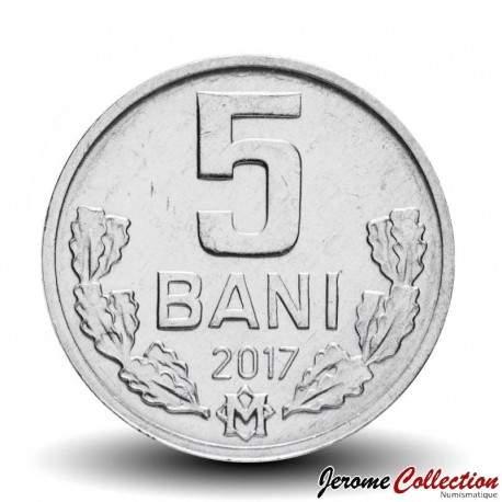MOLDAVIE - PIECE de 5 Bani - 2017 Km#2