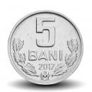MOLDAVIE - PIECE de 5 Bani - 2017