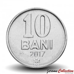 MOLDAVIE - PIECE de 10 Bani - 2017 Km#7