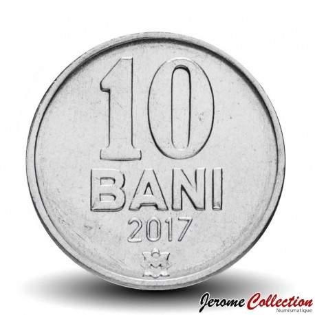 MOLDAVIE - PIECE de 10 Bani - 2017 Km#7
