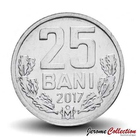 MOLDAVIE - PIECE de 25 Bani - 2017 Km#3