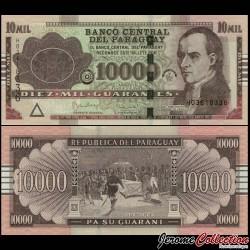 PARAGUAY - Billet de 10000 Guaranies - José Gaspar Rodríguez de Francia - 2017