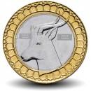 ALGÉRIE - PIECE de 20 Dinars - Gazelle Dama - Bimétal - 2019