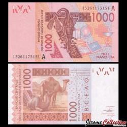 BCEAO - COTE D'IVOIRE - Billet de 1000 Francs - 2003 / 2015 P115Am