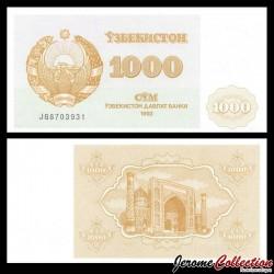 OUZBEKISTAN - Billet de 1000 Som - Médersa - 1992 P70a