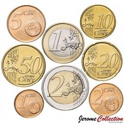 CHYPRE - SET / LOT de 8 PIECES de 1 2 5 10 20 50 Cents - 1 2 Euro - 2020