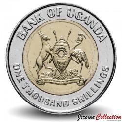 OUGANDA - PIECE de 1000 Shillings - 50e ans de l'indépendance - 1995