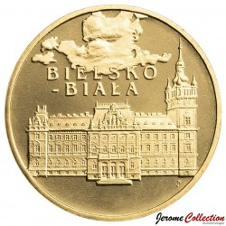 POLOGNE - PIECE de 2 ZLOTE - Villes de Pologne: Bielsko-Biala - 2008