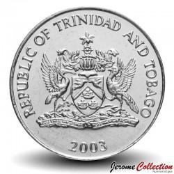 TRINITÉ-ET-TOBAGO - PIECES de 50 Cents - Tambours - 2003