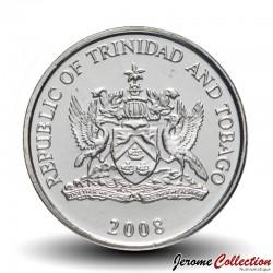 TRINITÉ-ET-TOBAGO - PIECES de 10 Cents - Hibiscus - 2008