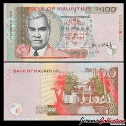 MAURICE (ile) - Billet de 100 Roupies - Renganaden Seeneevassen - 2007 P56b