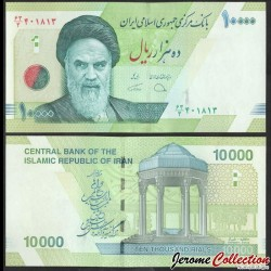 IRAN - Billet de 10000 Rials - 2019 P159c