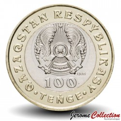 KAZAKHSTAN - PIECE de 100 Tenge - Fusil Kazakh - Beren Mylityq - 2020