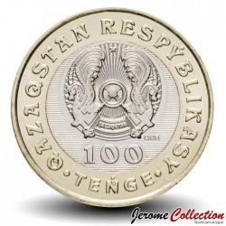 KAZAKHSTAN - PIECE de 100 Tenge - Lévrier Afghan (Qumai Tazy) - 2020