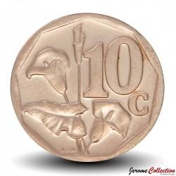 AFRIQUE DU SUD - PIECE de 10 Cents - Fleur Arum Lily - 2014 Km#new