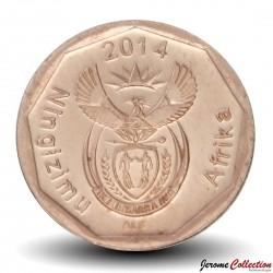 AFRIQUE DU SUD - PIECE de 10 Cents - Fleur Arum Lily - 2014